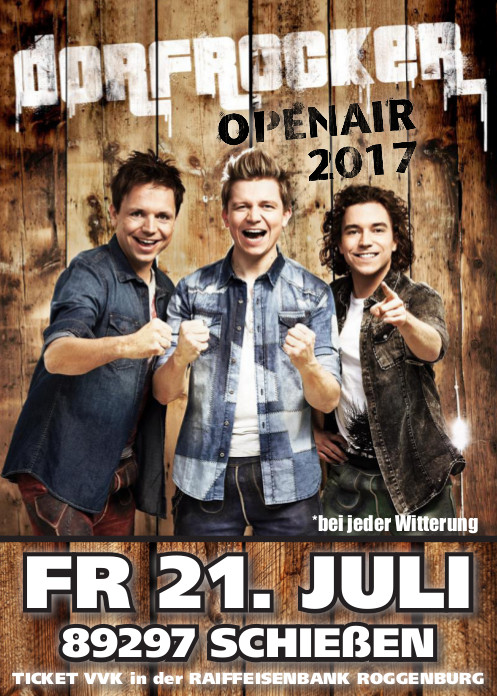 Dorfrocker - Open Air - 21.07.2017